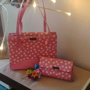 Pink & White Polka Dot Duo!
